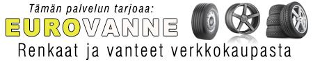 EUROVANNE - Renkaat ja Vanteet verkkokaupasta