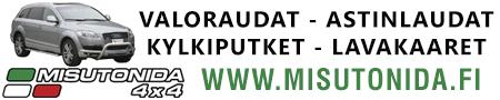 Valoraudat - Astinlaudat - Lavakaaret - Kylkiputket verkkokaupasta
